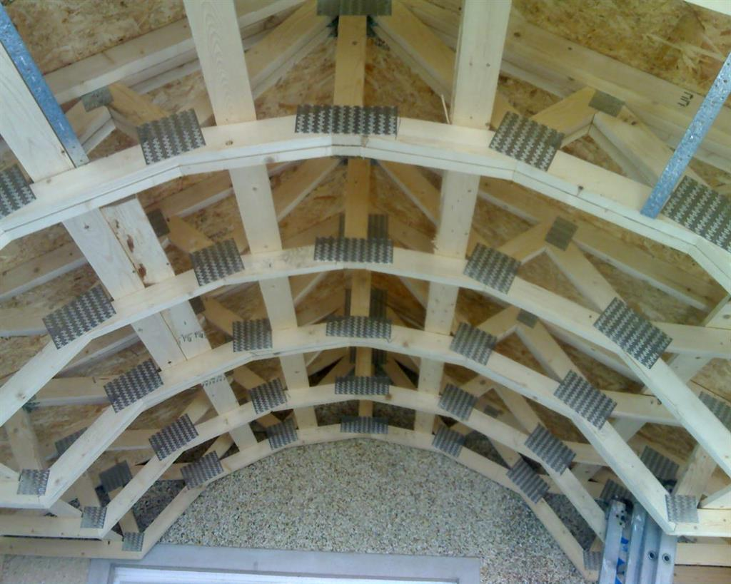 Fforest Timber Engineering Curved Roof Truss Design
