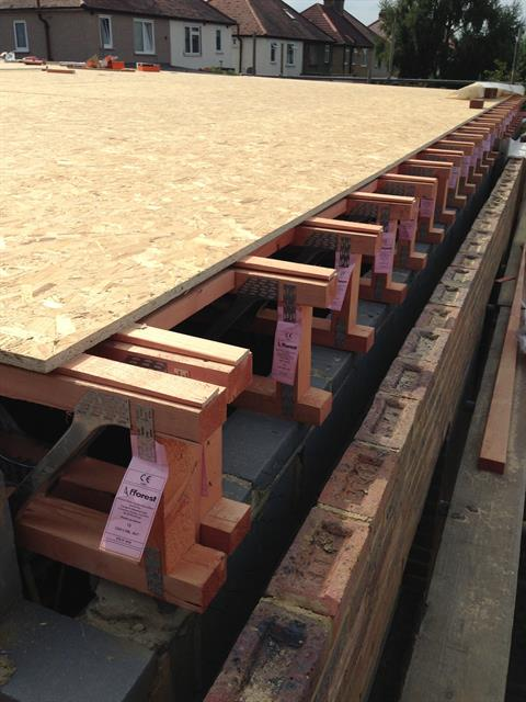 Fforest Timber Engineering Easi Joists 174 Flat Roof